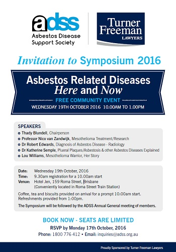 Asbestos Symposium Brisbane | Turner Freeman Lawyers QLD