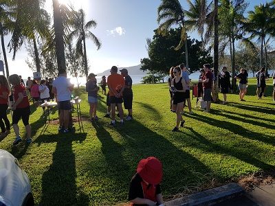 Turner Freeman Lawyers Cairns office takes part of a charity walk