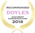 Doyles Guides award recipient | Accident Compensation Lawyers 2018