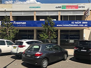 Turner Freeman Lawyers Campbelltown office