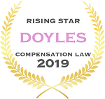 Turner Freeman Lawyers raising stars in compensation law firm in Doyles guide 2019
