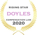 Luke Power Compensation - Rising Star - 2020 | Turner Freeman Lawyers