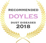 Doyles Guides award recipient | Dust Diseases Lawyers 2018