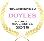 Recommended Medical Negligence Lawyers for 2019 | Turner Freeman Lawyers