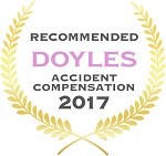 Doyles Guides award recipient | Accident Compensation Lawyers 2017