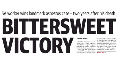 SA Asbestos victim awarded record compensation | Turner Freeman Lawyers