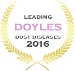 Doyles Guides award recipient | Dust Diseases Lawyers 2016
