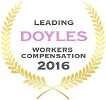 Doyles Guides award recipient | Workers Compensation Lawyers 2016