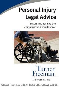 Turner Freeman Lawyers South Australia Personal Injury Brochure
