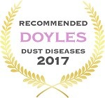 Doyles Guides award recipient | Dust Diseases Lawyers 2017