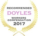 Doyles Guides award recipient | Workers Compensation Lawyers 2017