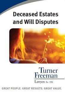 Turner Freeman Deceased Estates Law Services