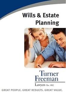 Turner Freeman Wills Estate Planning Brochure