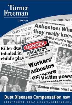Turner Freeman Asbestos Compensation Brochure