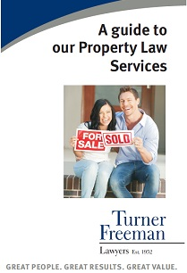 Turner Freeman Property Law services