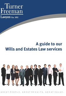 Turner Freeman Wills and Estates Law Services