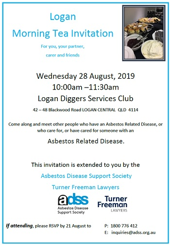 Asbestos morning tea logan | Turner Freeman Lawyers
