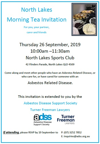 Asbestos morning tea North Lakes | Turner Freeman Lawyers