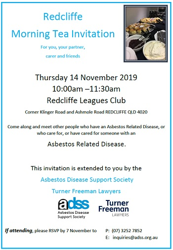 Asbestos related diseases information seminar in Redcliffe | Turner Freeman Lawyers